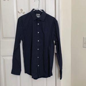Men's blue button down- Medium (brand new)